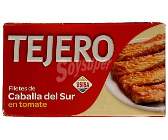 Usisa Filetes de caballa del sur en tomate 78 g