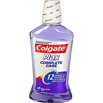 Colgate Enjuague bucal Complete Care 10 bebeficios en 1 sin alcohol Frasco 500 ml