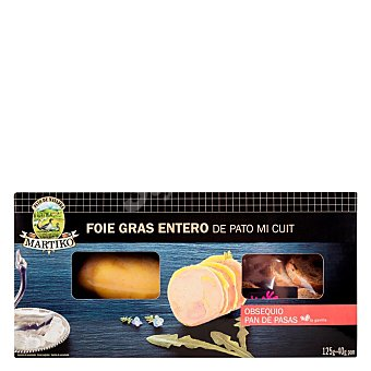 Martiko Foie gras entero de pato mi cuit Envase 125 g