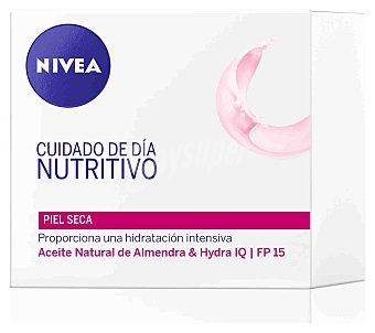 Nivea Cuidado de día nutritivo para piel seca y sensible Aqua Effect Tarro 50 ml