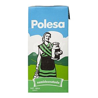 La Polesa Leche Semidesnatada Brik 1 litro