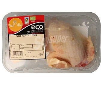 Viube Bandeja de muslo de pollo ecológico con piel 400 gramos aproximados