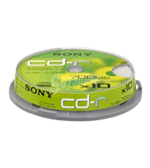 Bobina 10 CD 700MB 80' Unidad