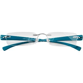 Loring Gafas de lectura Mod Lyon Azul +200 caja 1 unidad 1 unidad