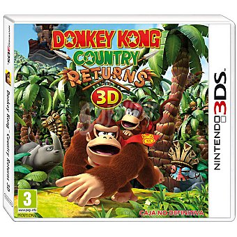 Nintendo Videojuego Donkey Kong: Country Returns 3D 1 Unidad