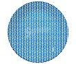 Plato de postre de 18 centímetros en color azul, ARC.  ARC
