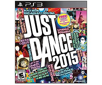 Ubisoft Just Dance 2015 PS3 1u