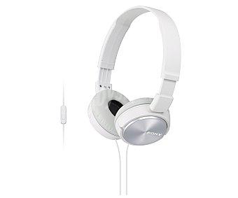 SONY MDRZX310APW Auricular tipo diadema con cable, color blanco