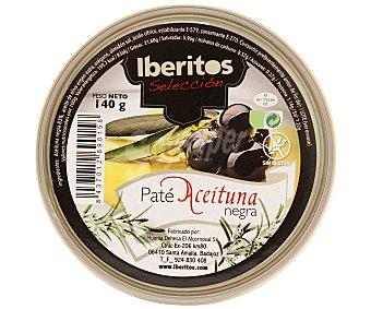 Iberitos Paté aceitunas negras 140 g