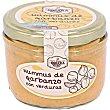 Hummus de garbanzos con verduras Tarro 125 g Rosara