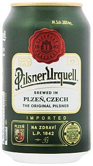 Pilsner Urquell Cerveza Lata de 33 cl