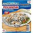 Anguriñas con langostinos cocidos 200 g Pescanova