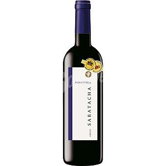 Sabatacha Vino tinto monasstrel Jumilla botella 75 cl BOTELLA 750 cc