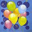 Servilletas de papel Balloons 2 capas 33x33 cm festa Paquete 20 unidades Perla