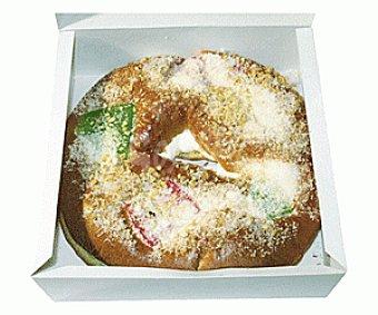Auchan Roscón de Reyes Pequeño con Relleno 400 gramos