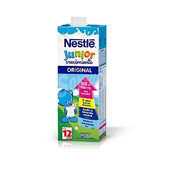 NESTLE JUNIOR Crecimiento Original leche infantil desde 12 meses envase 1 l