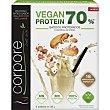 Vegan Protein 70% batido proteínico sabor galletas con avellanas sin gluten y sin lactosa sin aceite de palma Envase 150 g Corpore diet