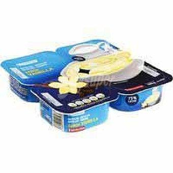 Eroski Natillas de vainilla 4 unidades de 120 g