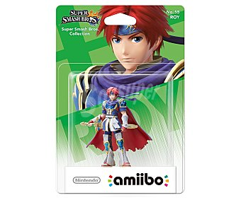 Nintendo Figura amiibo Roy, serie Super Smash Bros, compatible con wiiu, Nintendo New 3Ds y New 3Ds XL Amiibo Smash Roy