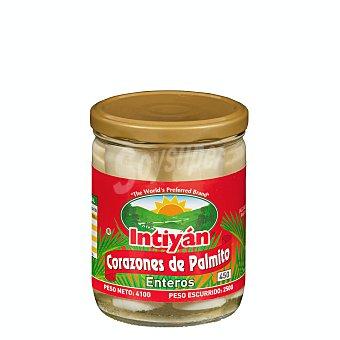 INTIYÁN Palmitos al natural conserva Tarro 250 g escurrido neto