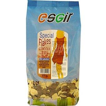 Esgir Special Flakes Choco sin gluten bajo en sal Envase 375 g