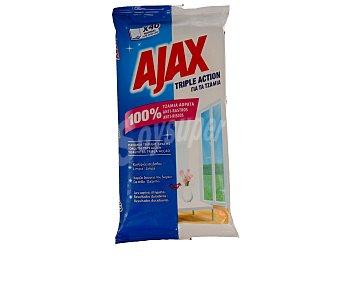 Ajax Toallitas limpiacristales 20 unidades