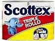 Papel de cocina gigante 2 = 6 rollos Scottex