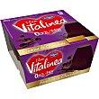 Fondant de chocolate 09 % materia grasa pack 4 unidades 100 g Vitalínea Danone