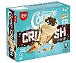 Conos de helado de chocolate blanco con trocitos de galletas al cacao Crush 4 x 90 ml Cornetto Frigo