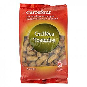 Carrefour Cacahuetes tostados con cáscara Carrefour 400 g