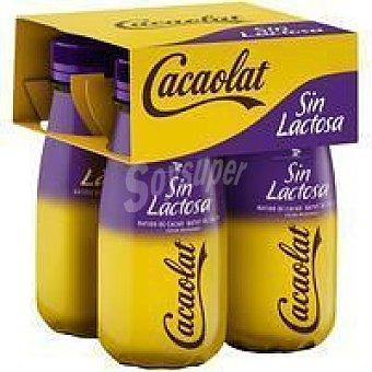 Cacaolat Batido de cacao sin lactosa 4 x 200 ml