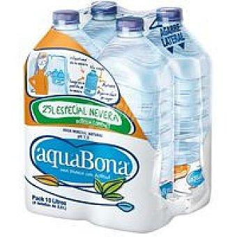 Aquabona Agua mineral Pack 4x2,5 litros