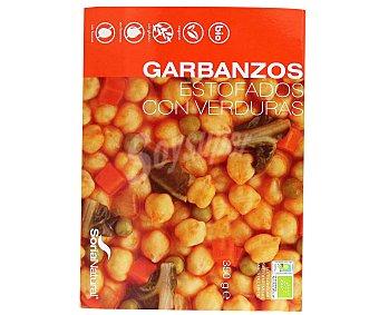 Soria Natural Garbanzos estofados con verduras, ecológicos 300 gr