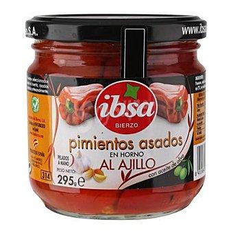 Ibsa Pimientos asados al ajillo con aceite de oliva 210 g