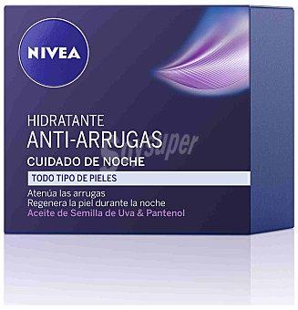 Nivea Crema de noche hidratante antiarrugas para todo tipo de pieles 50 ml