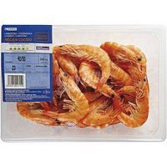 Eroski Langostino cocido 40-50 Bandeja 450 g