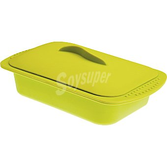 Ibili Estuche para cocina al vapor en color verde 1 Unidad