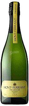 Mont-ferrant Cava Brut Tradicional Botella 75 cl