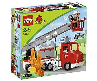 LEGO Juego de Construcciones Duplo, Camión de Bomberos, Modelo 5682 1 Unidad