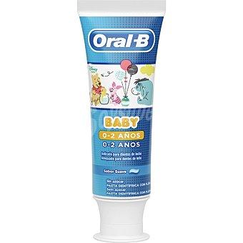 Oral-B Pasta de dientes infantil Winnie the Pooh 0-2 años tubo 50 ml tubo 50 ml
