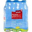 Agua mineral natural 6 botellas de 50 cl Aliada