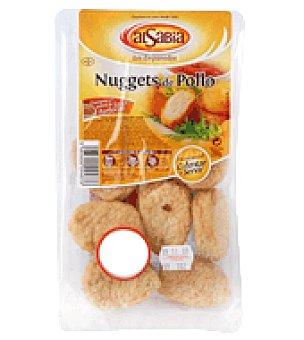 Alsabia Nuggets de pollo precocinados Bandeja de 200 gr