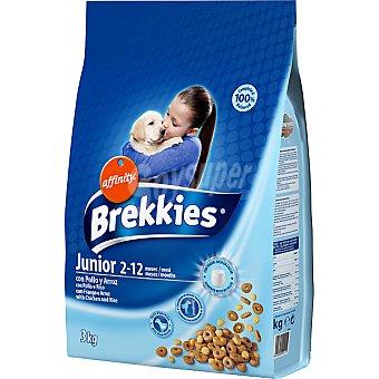 Alimento para cachorros con pollo y arroz Paquete 3 kg