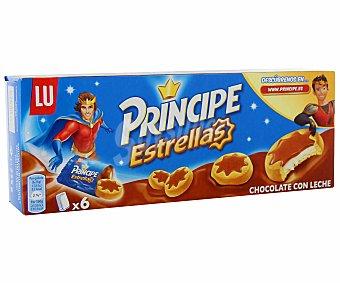 Príncipe Galletas Estrellas de Chocolate con leche Caja 225 g
