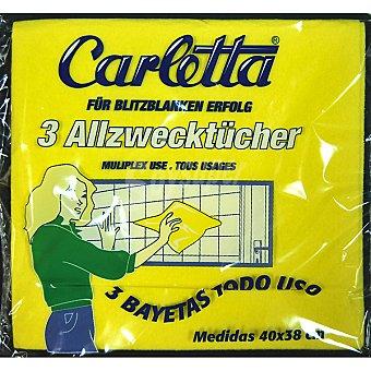CARLETTA Bayeta multiusos Paquete 1 unidad
