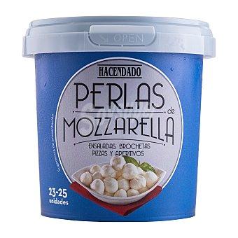 Hacendado Perlas de mozzarella Hacendado Tarrina 300 g escurrido