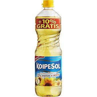 Koipesol Aceite refinado de girasol Botella 1 l + 10% gratis