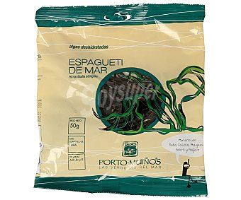 Porto Muiños Espagueti de mar (himanthalia elongata) 50 gramos
