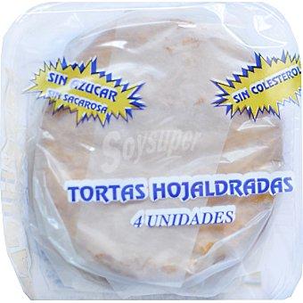 COHIPAN Tortas hojaldradas sin azúcar Paquete 150 g