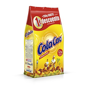 Cola Cao CACAO SOLUBLE PAQUETE 1200 g
